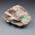 砂岩んの中にオパール層が形成されています。