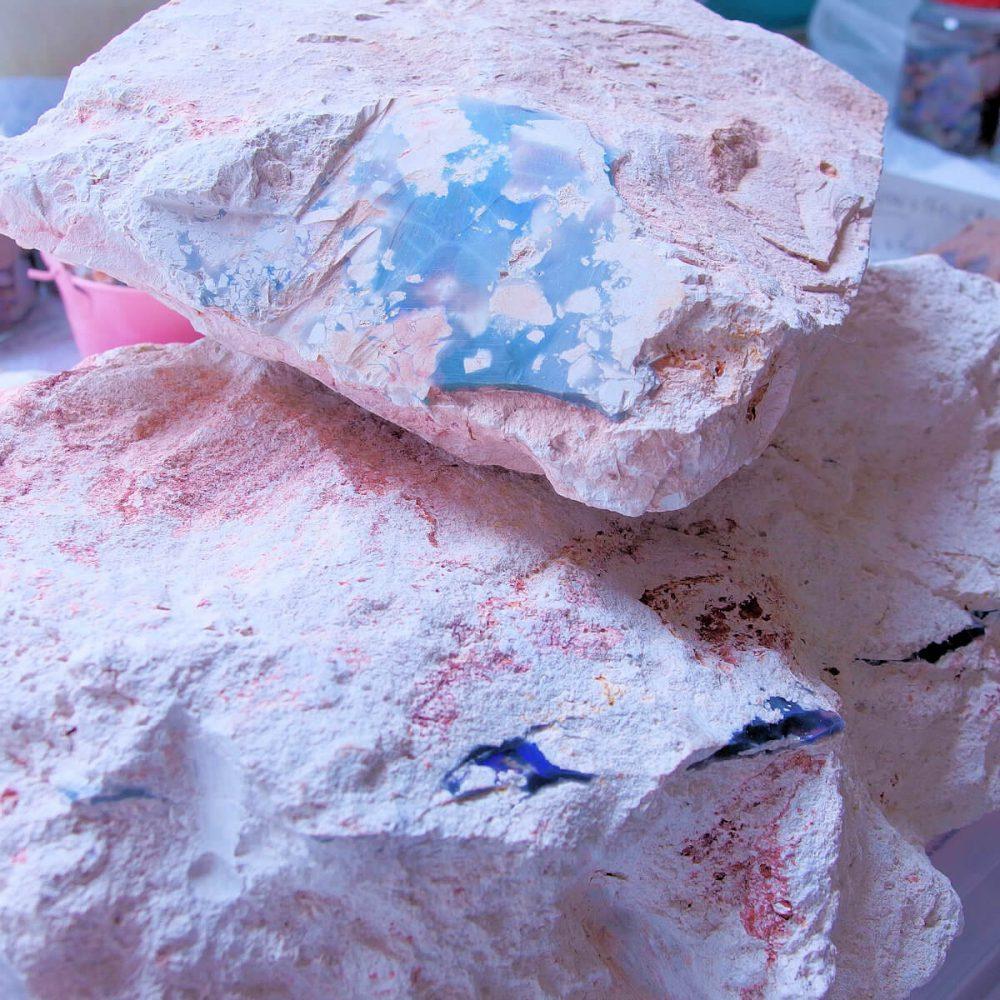 ブラックオパール原石