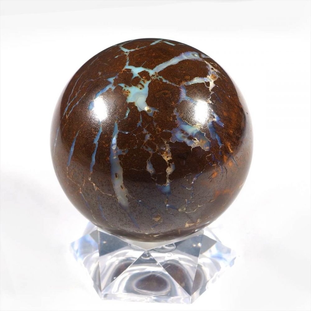 ボルダーオパール丸珠